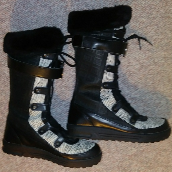 DC THINSULATE Shoes - DC THINSULATE , LEATHER SNOW BOOTS